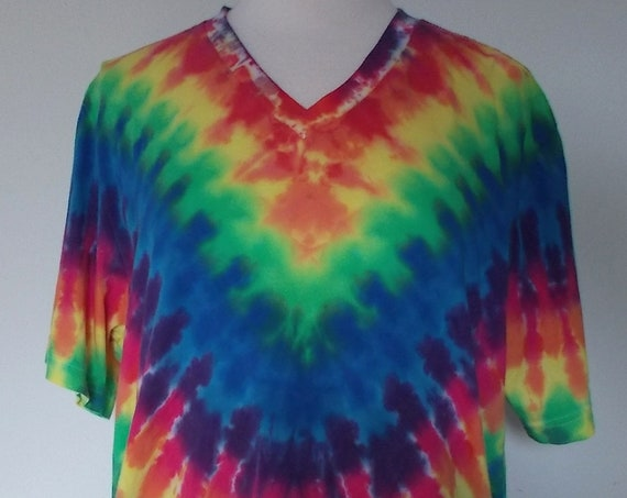 XL Ice-Dyed Tie Dyed  Tshirt