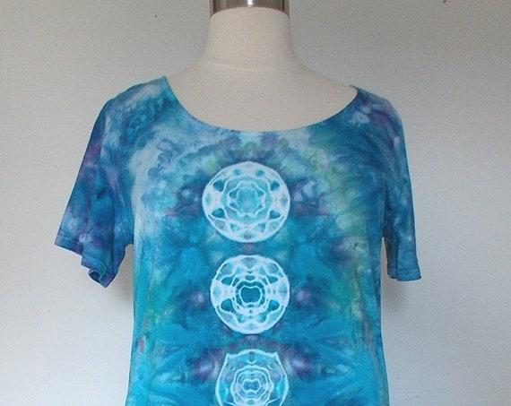 3XL Ice dye tie dye Dress