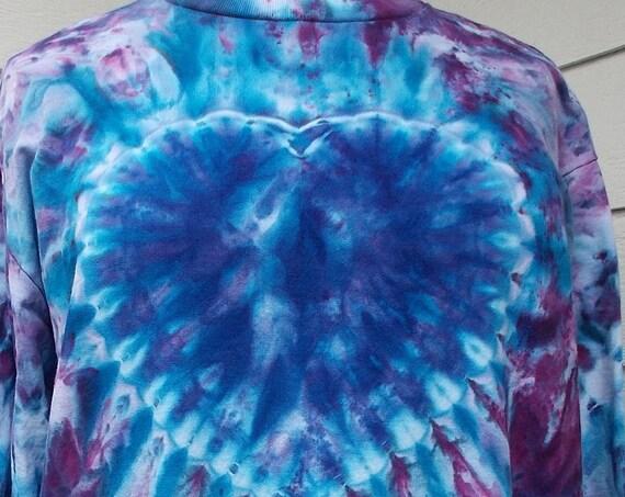 Ice-dyed Sweatshirt 2XL