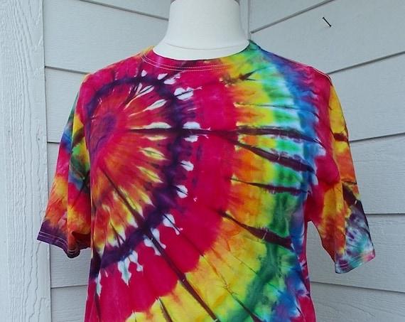 Ice-Dyed Tie Dyed Tshirt, XLarge
