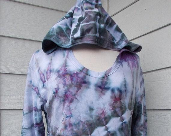 Ladies French Terry Hoodie Sweatshirt, Medium