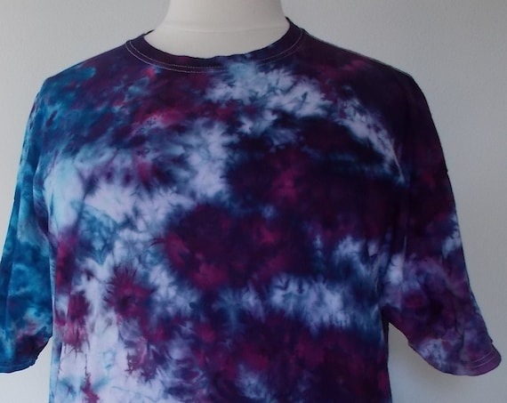 2XL Ice-Dyed Tie Dyed  Tshirt