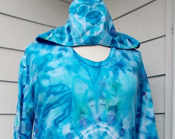 Ladies XL French Terry Hoodie Sweatshirt