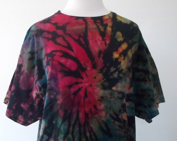 XL Reverse dyed, Bleach Dyed, Ice-Dyed, Tie Dyed Tshirt