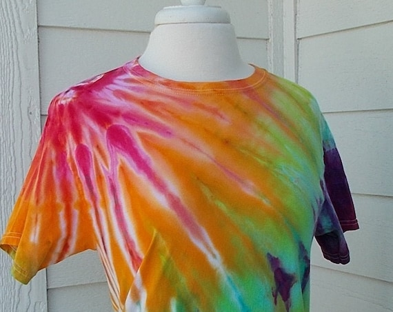 Ice-Dyed Tie Dyed Tshirt