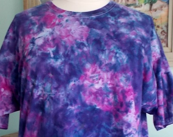 Ice-Dyed Tie Dyed Tshirt, 3XL