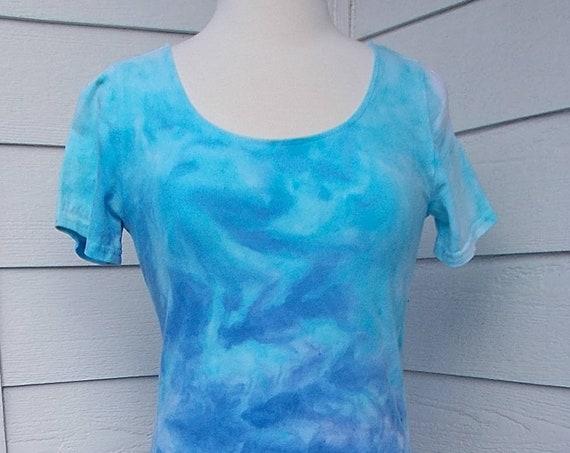 Ice dye tie dye Dress mountain vista