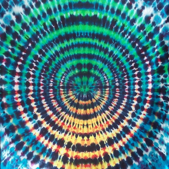 WigWag Tapestry, Tie Dye Tap, Wall Hanging