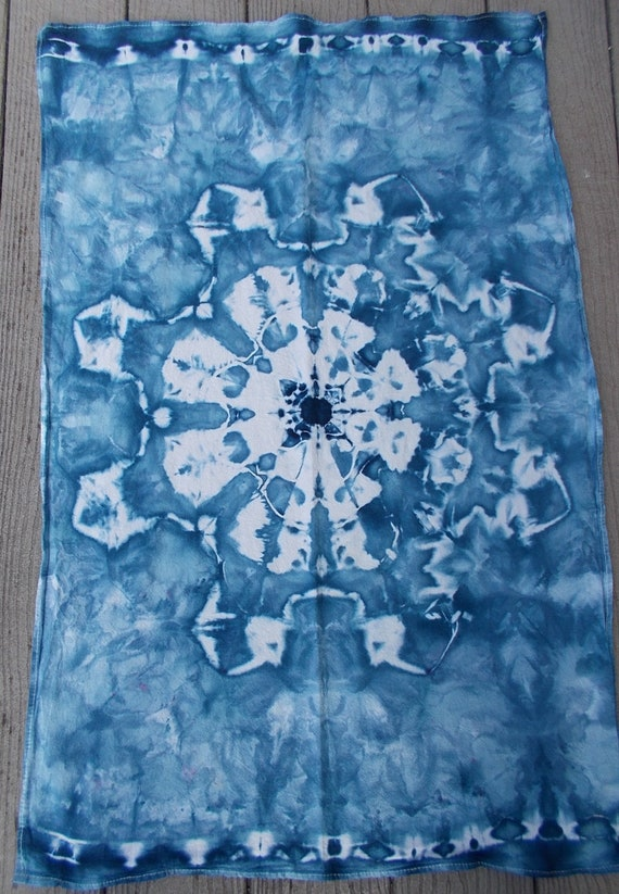Flour Sack Towel, Ice-Dyed Towel, Tie-Dyed Flour Sack Towel, Dish Towel, Kitchen Towel, Cotton Towel, Tie Dyed Towel, Tea towel