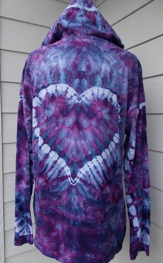 Unisex Long Sleeve Tshirt Hoodie Large