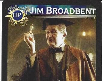 Harry Potter Slughorn Actor Jim Broadbent Authentic AUTOGRAPHED Custom Trading Card