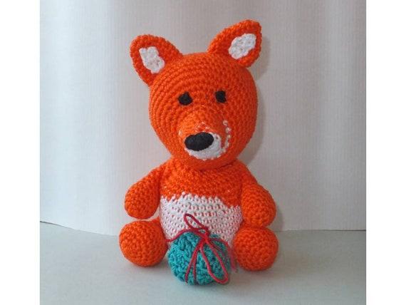 Ähnliche Artikel wie kleiner Fuchs * little Fox Häkelanleitung ...