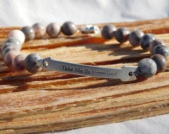 "Jasper ""Take me to neverland""  bracelet"