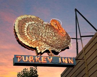 Turkey Inn Neon Sign