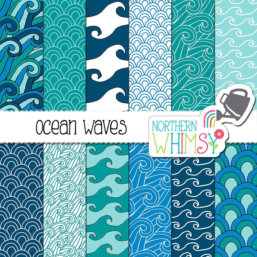 Ocean Wave Pattern New Inspiration Ideas