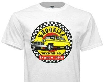 Vintage Brooklyn Checker Taxicab T-Shirt