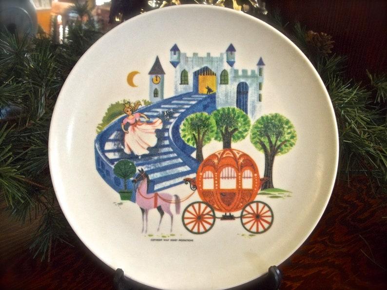Cinderella RTS Gifts Vintage Childs Bowl Childrens Plate Vintage Childs Cup Vintage Childs Plate Childs Plate Vintage Walt Disney