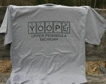 Yooper Upper Peninsula tshirt HMB Crafts Chemical UP of Michigan