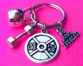 4 No more excuses charms antique silver tone M571