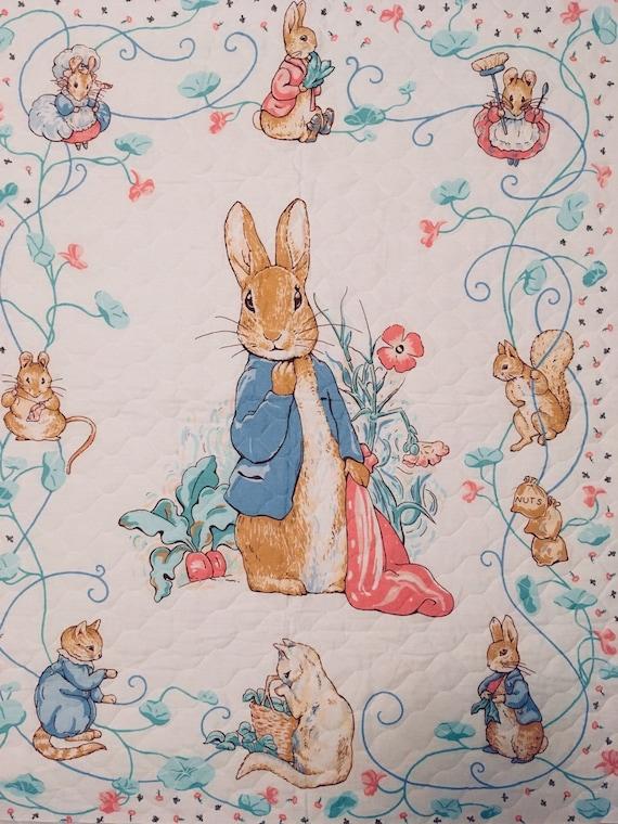 Beatrix Potter /'Peter Rabbit/' /& Friends 100/% Cotton Fabric by 1//4 M*//Panel