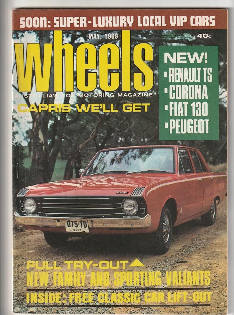 May 1969 Wheels Magazine 50th Birthday Gift For Men