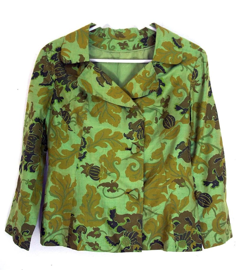 977e04d6da37f Thai Silk Jacket Handmade