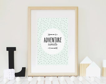 Adventure Awaits Print