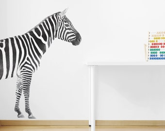 Large Zebra Interior Wall Decal