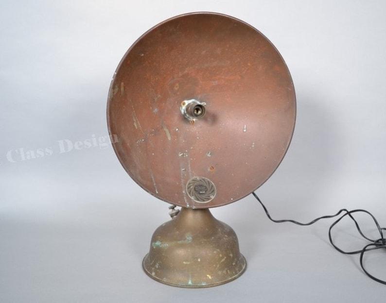 Lampe Cuivre Design Industriel Transforme Chauffage Vintage Etsy