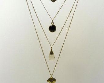 Lola 4 layered necklace