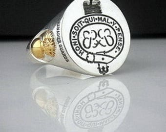 Grenadier Guards Regiment 6oz Hip Flask Personalised Gift FREE ENGRAVING BGK14