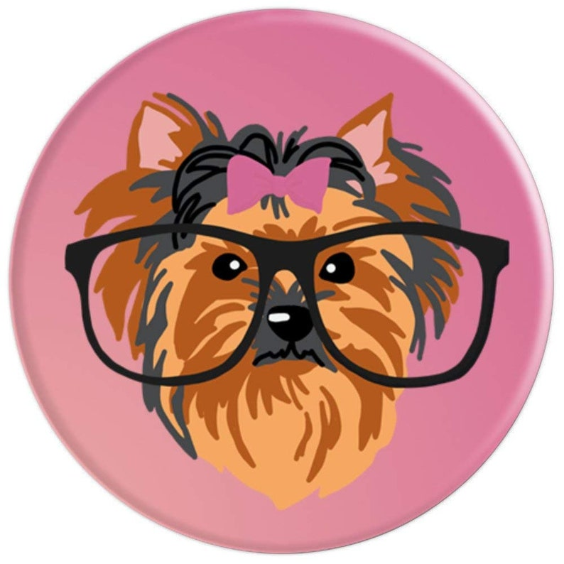 c278ba1748d Yorkshire Terrier in Glasses Funny Yorkie Dog Lovers Gift