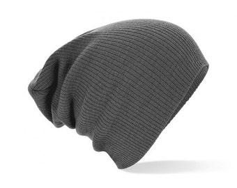 Retro vintage slouch beanie GREY Opie sons of anarchy outlaws grunge hippie boheme hobo hispter