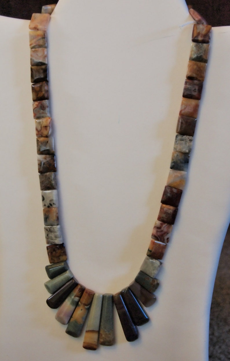 I/'m A Fan of Neutrals 21 Necklace handmade in the U.S.