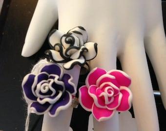 Rose Adjustable Ring