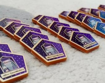 Chocolate Frog needle minder - cross stitch accessory