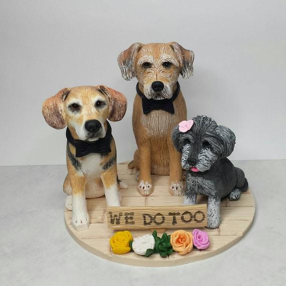 Boîte Argent or Rose Mini Teckel Sausage Dog Collier en Sac Cadeau Gratuit