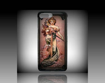 iPhone Case  7/ 8, A. Mucha Art Mobile Phone Case,Fancy Fashion Cell Phone Case, Asuaku Studio