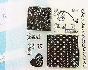 Miracle Stamp Set, Stamp Set, Sentiment Stamps, Clear Photopolymer Stamps, Close to My Heart