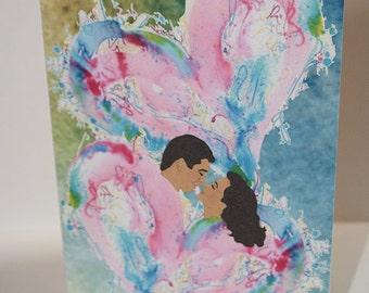 Couple Anniversary Card-Anniversary-Anniversary Card-Couple-Couple Card-Greeting Card-Handmade Card