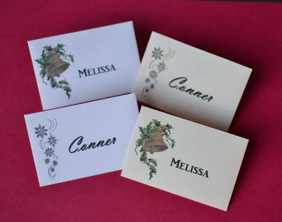 Christmas Gift Card Envelopes - Personalized Envelopes - Personalized Christmas Envelopes - Cream Envelopes - White Envelopes