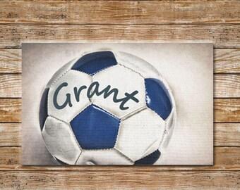 White Close Up Black Gift Sports ~ Soccer Balls Decor ~ Vivid Coaster
