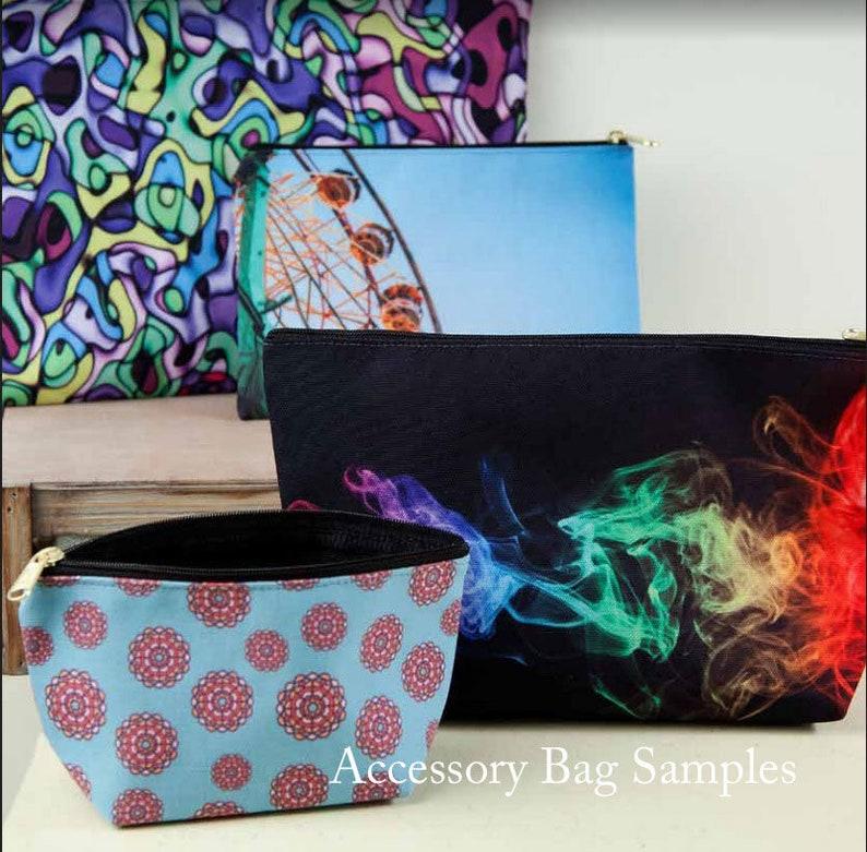 Rose Zipper Bag-Pink Clutch-Flower Pouch-Summer Wedding Essentials-Make Up Bag-Bridesmaid Gifts-Accessory-Floral Bag-Mini Travel Bag