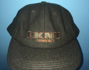 Vintage 90s DKNY USA HAT baseball cap ae787d5b85b0