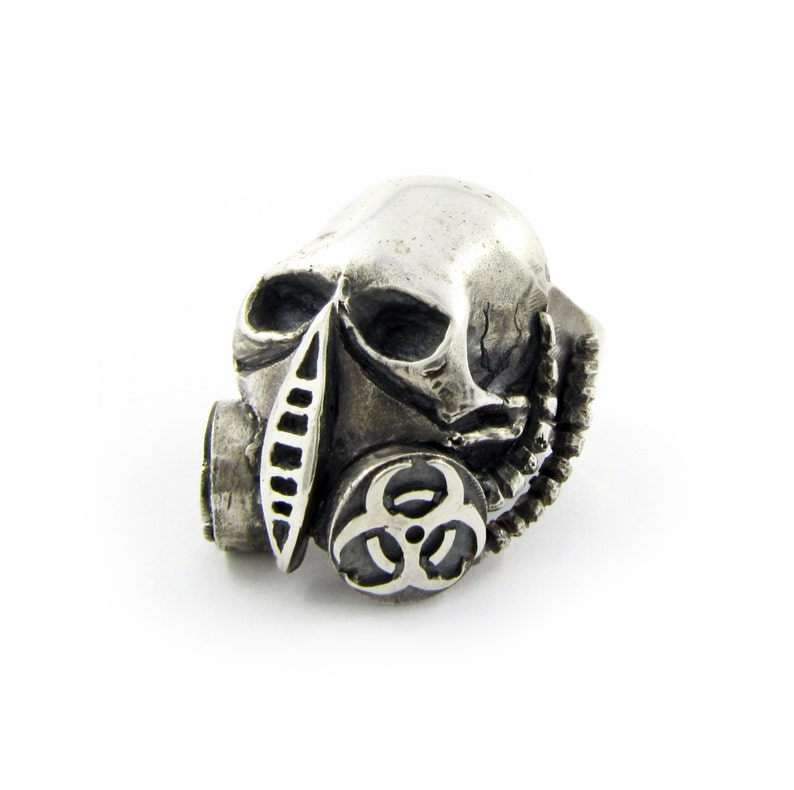 silver skull rings for men alchemy gothic ring alchemy image 0