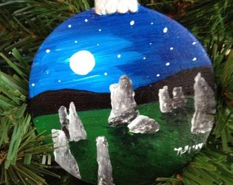 Outlander inspired ornaments