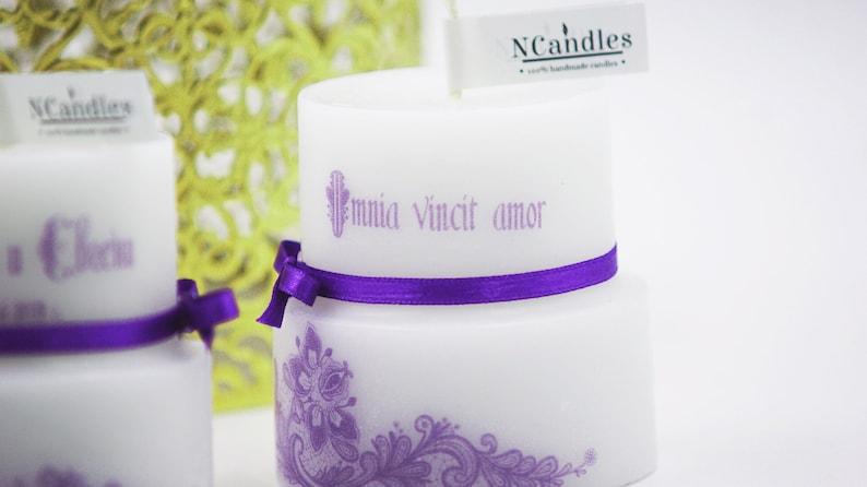 Candle wedding favors Candle favors candle for wedding favors set of 12