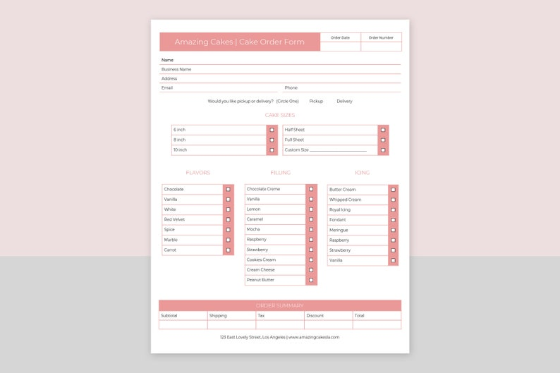 photograph about Cake Order Forms Printable called Cake Invest in Style, Obtain Type Template, acquire sort printable, Editable Purchase Sort, Personalized Obtain Kind, Immediate Down load