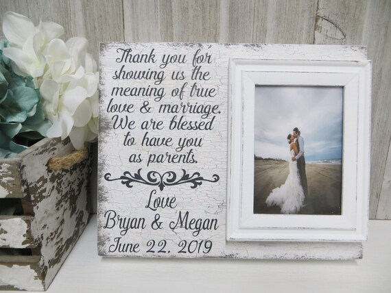 Wood Wedding Frame,