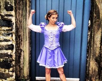 Rapunzel inspired running costume